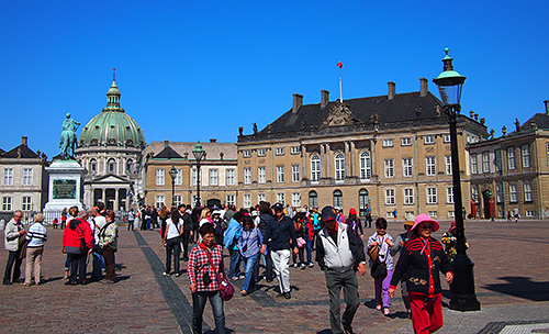 Amalienborg Slot, Copenhagen