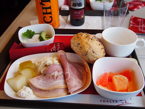 Lunch with Thalys